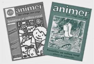"""Le premier numéro de la revue """"Animer mon village, mon pays"""" paraît en 1981"""