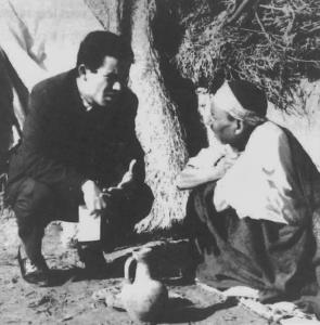 Formation des animateurs Tunisiens et Français, stage en Tunisie - 1968