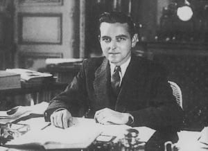 François Tanguy-Pringent dans son bureau, au ministère de l'Agriculture