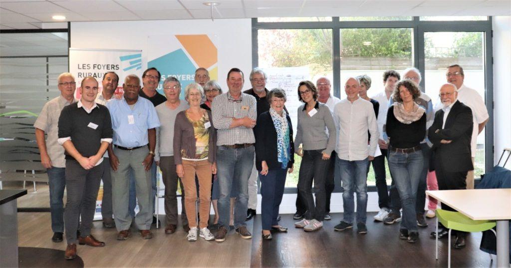 Conférence des président-es, au nouveau siège de la CNFR, à Montreuil - Septembre 2018