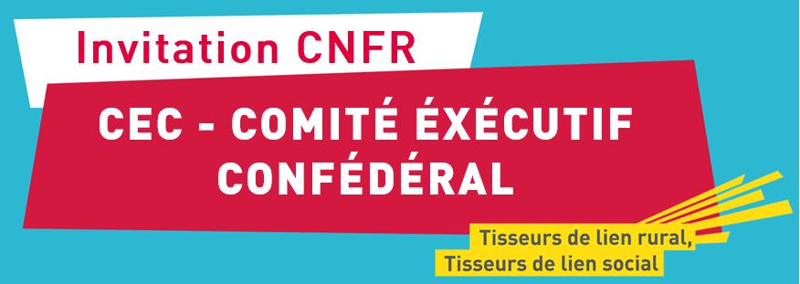 Comité exécutif confédéral des 30 et 31 octobre 2019