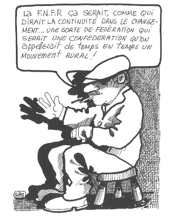Création de la FNFR, ministère de l'Agriculture - 1946