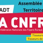 Assemblée des Territoires des samedi 30 novembre et dimanche1er décembre 2019