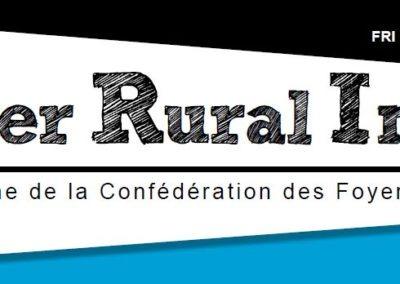 Foyer Rural Infos 2019