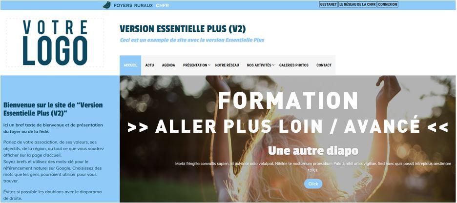 Formation Savoir administrer son site web  - Avancé - 15 octobre 2020 matin